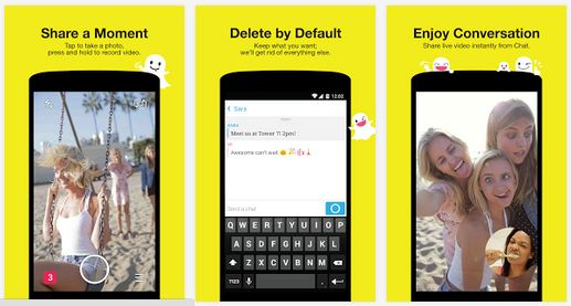 snapchat online login signup app