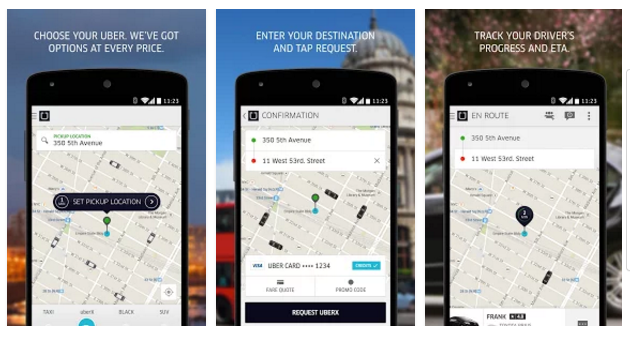 Uber Android Apps on Google Play