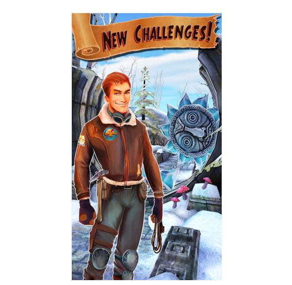 Temple Run 2 challenges