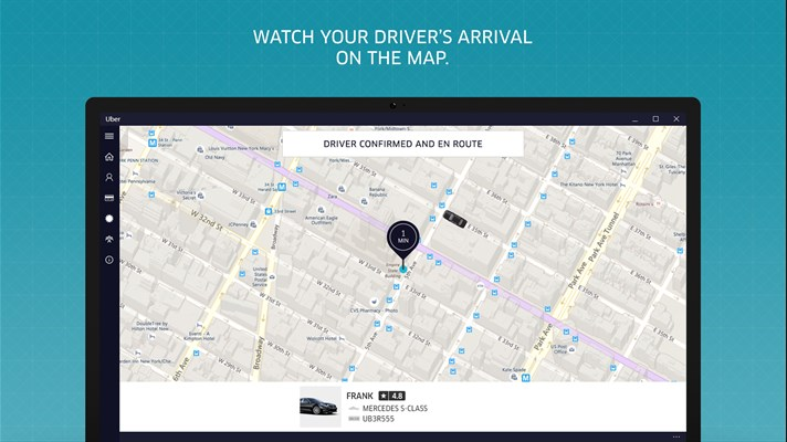 uber for pc driver location