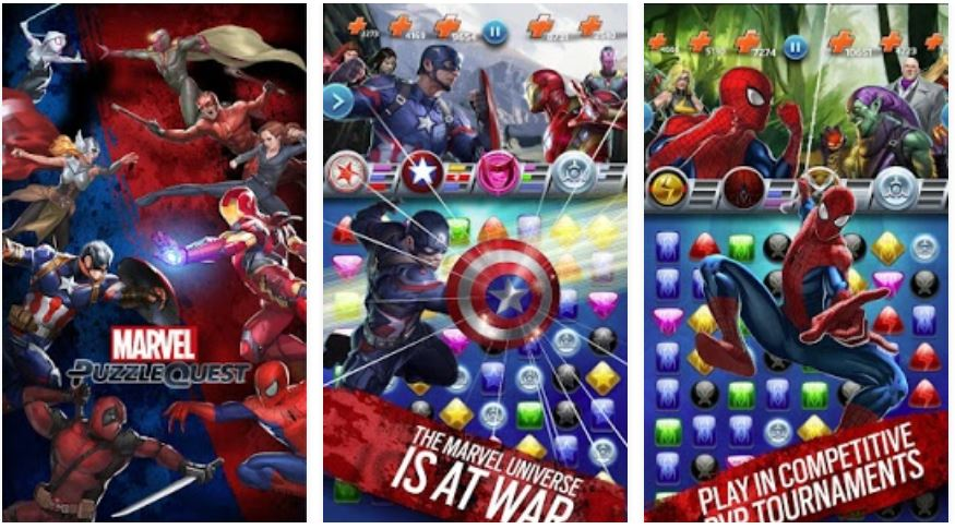 marvel puzzle quest for pc download
