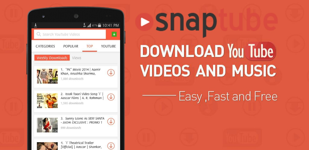 snaptube 4.5.1.8360 apk for android