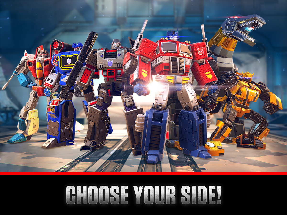 transformers: earth wars for pc