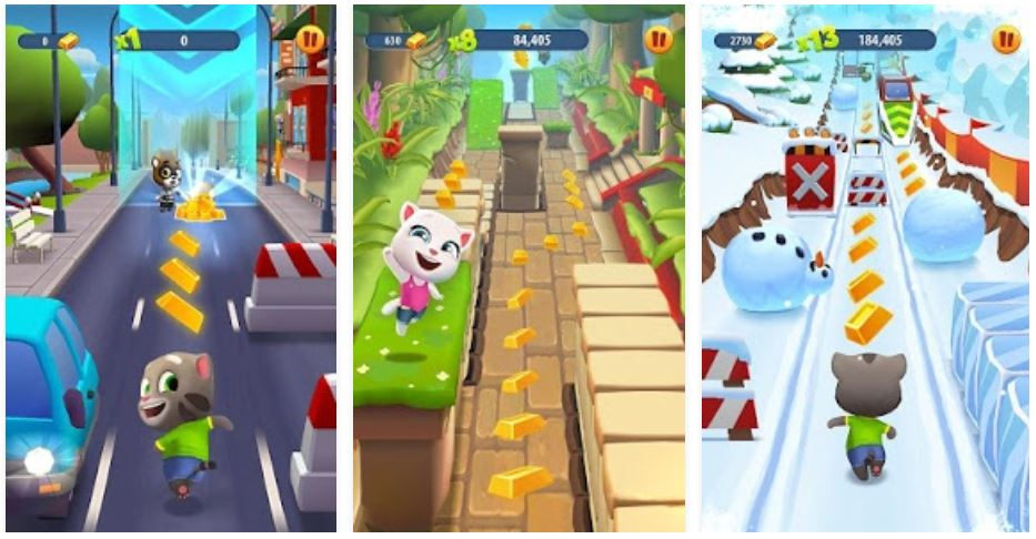 talking tom gold run for pc download