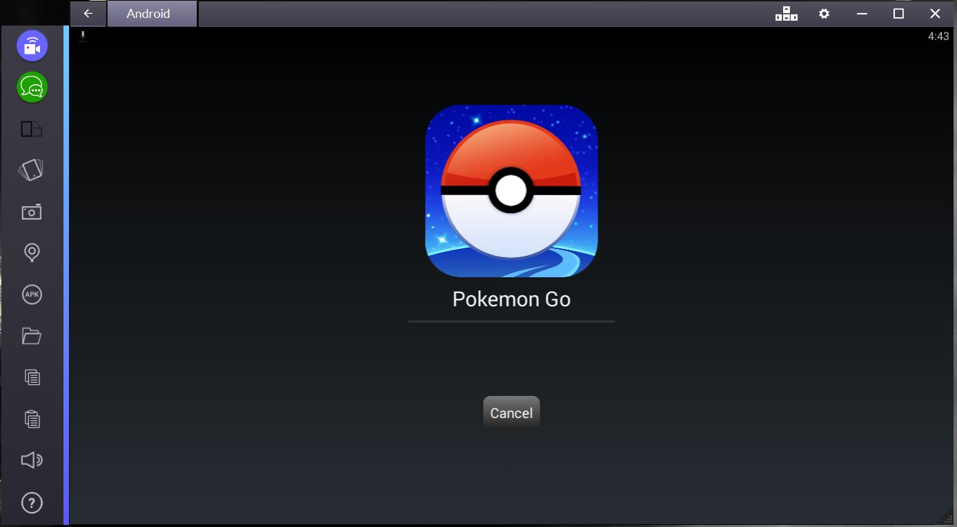 pokemon go for pc bluestacks