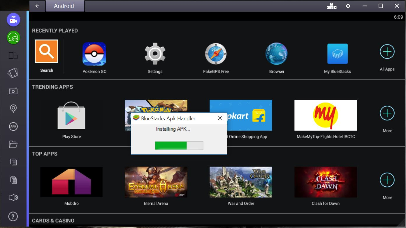 vidmate for pc bluestacks download