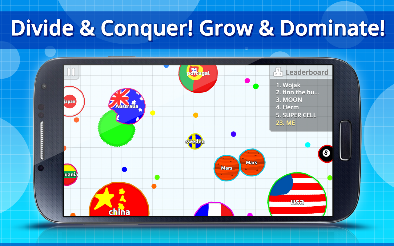 agar.io 1.5.2 apk for android