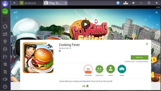cooking fever for pc bluestacks
