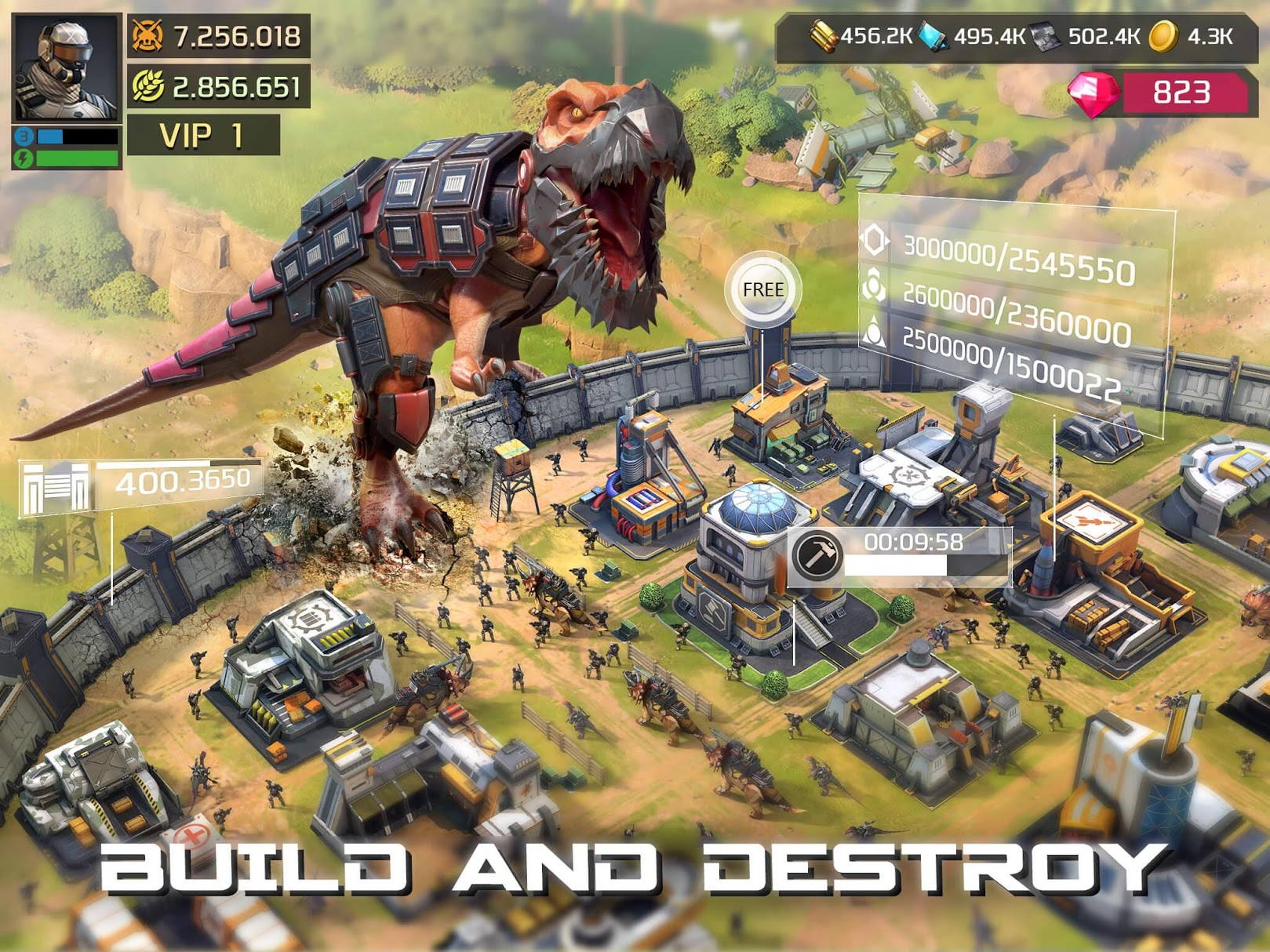 dino war for pc
